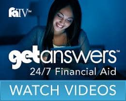 Watch Financial Aid Videos