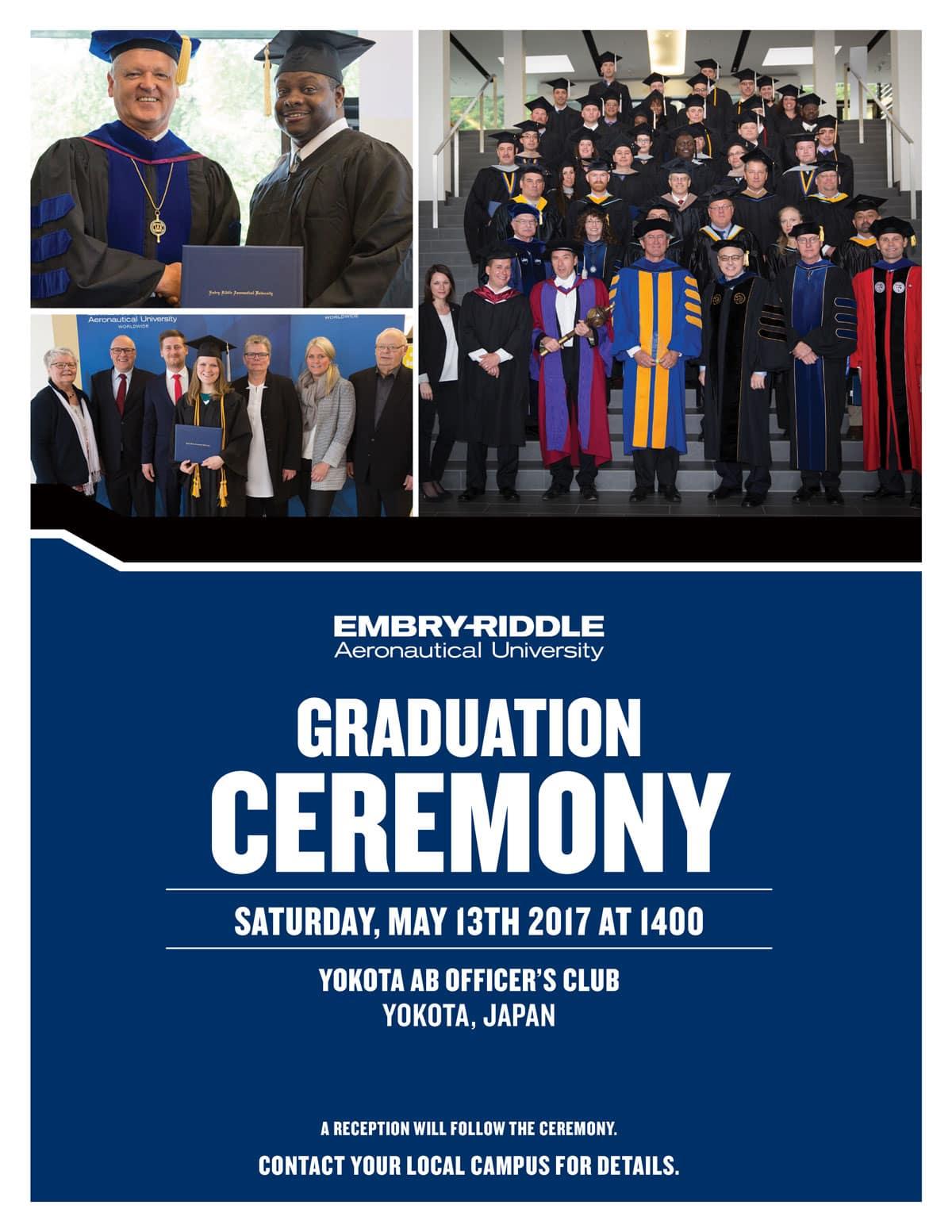 Pacom Embry-Riddle Spring 2017 Graduation
