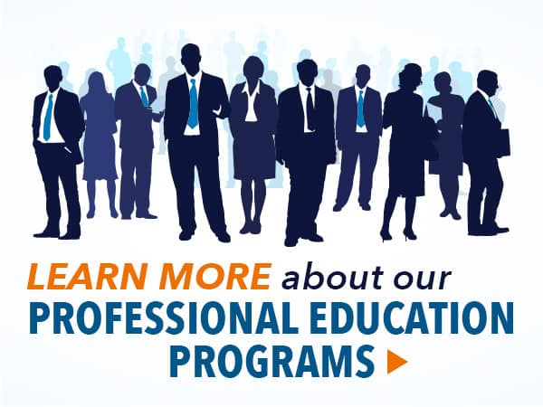 Learn More about our ProEd Programs