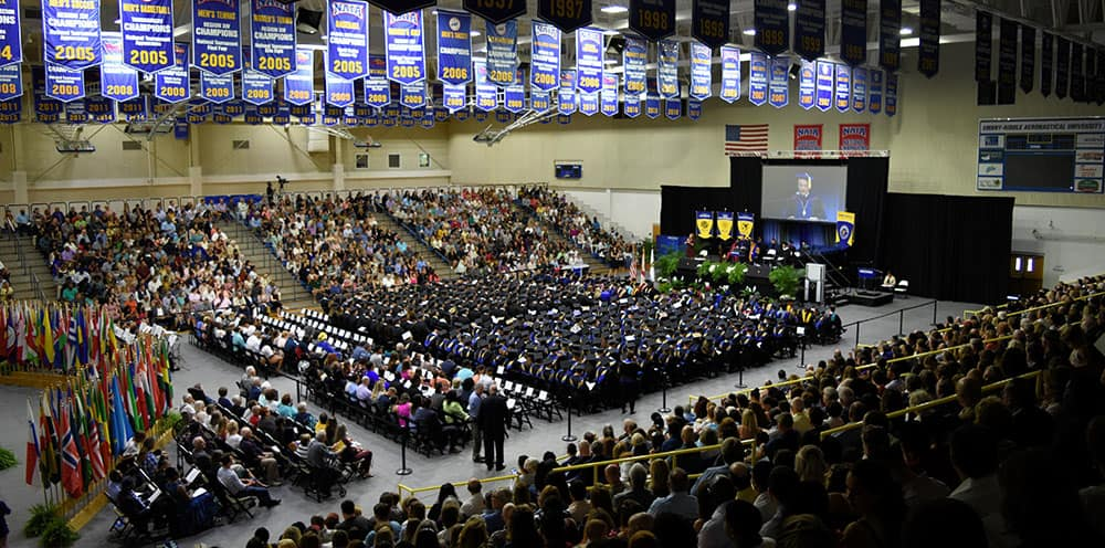 Worldwide students participate in the Spring 2019 Commencement Ceremony